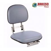 Cadeira Giratória Almofadada Retrátil para Barco - Narciso Pesca