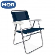 Cadeira Master AlumÍnio Azul - Mor