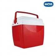 Caixa Térmica 26 Litros Vermelho - Mor