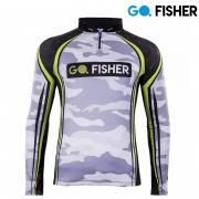 Camiseta de Pesca Camuflada GO 16 GG - Go Fisher