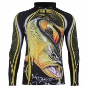 Camiseta de Pesca Dourado GO 09 M - Go Fisher