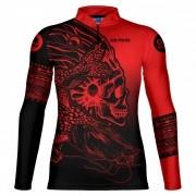 Camiseta de Pesca Pintado Skull GOSK 01 G - Go Fisher