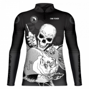 Camiseta de Pesca Tamba Skull GOSK 03 EX - Go Fisher