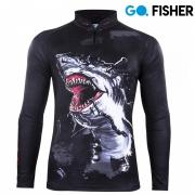 Camiseta de Pesca Tubarão GO 13 GG - Go Fisher