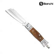 Canivete Tradicional Inox Cabo Alumínio e Madeira - Bianchi
