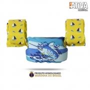 Colete Salva Vidas Homologado Ativa Kids Marlin