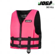 Colete Salva Vidas Wave 90KG Rosa - Jogá