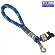 Guia de Corda para Cães 30cm Azul - Flop