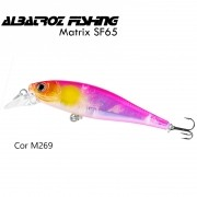 Isca Artificial Albatroz Matrix SF65 Cor M269