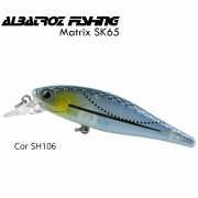 Isca Artificial Albatroz Matrix SK65 Cor SH106