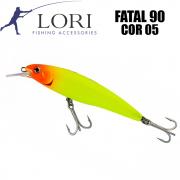 Isca Artificial Lori Fatal 90 Cor 05