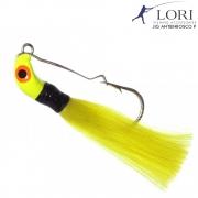 Isca Artificial Lori Jig Antienrosco 8g Cor Amarelo