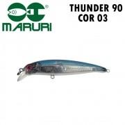 Isca Artificial Maruri Thunder 90 Cor 03