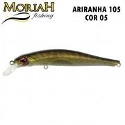 Isca Artificial Moriah Ariranha 105 Cor 05