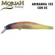 Isca Artificial Moriah Ariranha 105 Cor 26