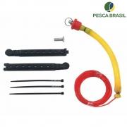 kit Turbo para Vara Telescópica 4,00 M - Pesca Brasil