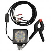 Lanterna Cilibrim Refletor 12v com Suporte - Pesca e Náutica Descalvado