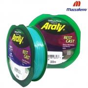 Linha Best Cast 300M 0,35mm Verde - Mazzaferro