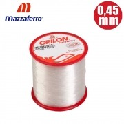 Linha grilon top flex uv 0,45mm 1270m 22,5lb - mazaferro