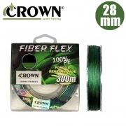 Linha Multifilamento Fiber Flex 28mm 300M - Crown