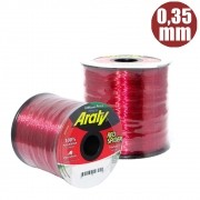 Linha red spider 930 m 0,35mm invisÍvel - araty