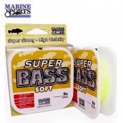 Linha Super Bass Soft Marine Sports 40mm 250M Amarela