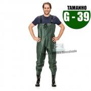 MACACAO BOTA LONGA PVC N 39 TAM G
