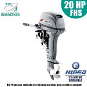 MOTOR DE POPA HIDEA 2 TEMPOS 20HP FHS (MANUAL)