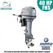 MOTOR DE POPA HIDEA 2 TEMPOS 40HP FHS (MANUAL)
