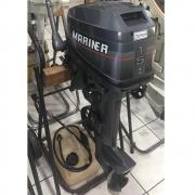 Motor de Popa Mariner 15 HP 2 Tempos Semi-novo