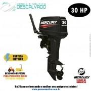 Motor De Popa Mercury 2 Tempos 30HP EH Partida Elétrica