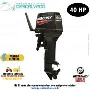 Motor De Popa Mercury 2 Tempos 40HP ELO Super 3 Cilindros