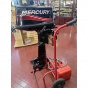 Motor de Popa Mercury 2 Tempos 5.0 HP Semi-novo