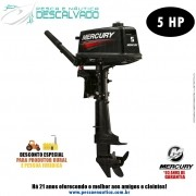 Motor De Popa Mercury 2 Tempos 5HP ML