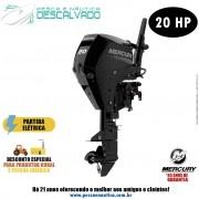 Motor De Popa Mercury 4 Tempos 20HP E EFI Partida Elétrica