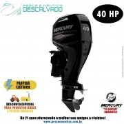 Motor De Popa Mercury 4 Tempos 40HP ELPT EFI