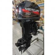 Motor de Popa Mercury 2 Tempos 50 HP com Comando - Semi-novo