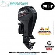 Motor De Popa Mercury 4 Tempos 90HP ELPT EFI CT