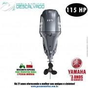 Motor De Popa Yamaha 4 Tempos F 115HP BETX