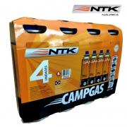 Refil Cartucho de Gás Nautika 227g 4 Unidades