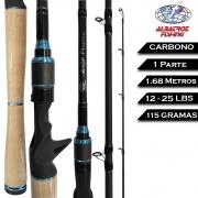 Vara Carretilha Enzo Premium 1.68M 12-25LBS - Albatroz Fishing