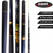 Vara Telescópica Carbono Angler 4.40 M - Saint Plus