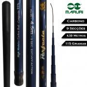 Vara Telescópica Carbono Perfecta 4,5 M - Maruri