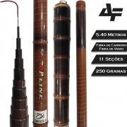 Vara Telescópica Carbono Top Line 5.40 M - Albatroz