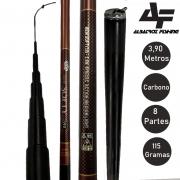 Vara Telescopica New Softy Carbono 3.90 Metros - Albatroz