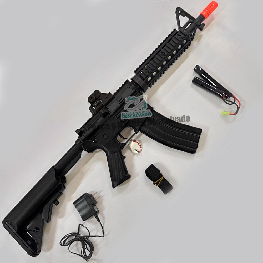 RIFLE AIRSOFT CYMA M4A1 CM506S ELÉTRICO