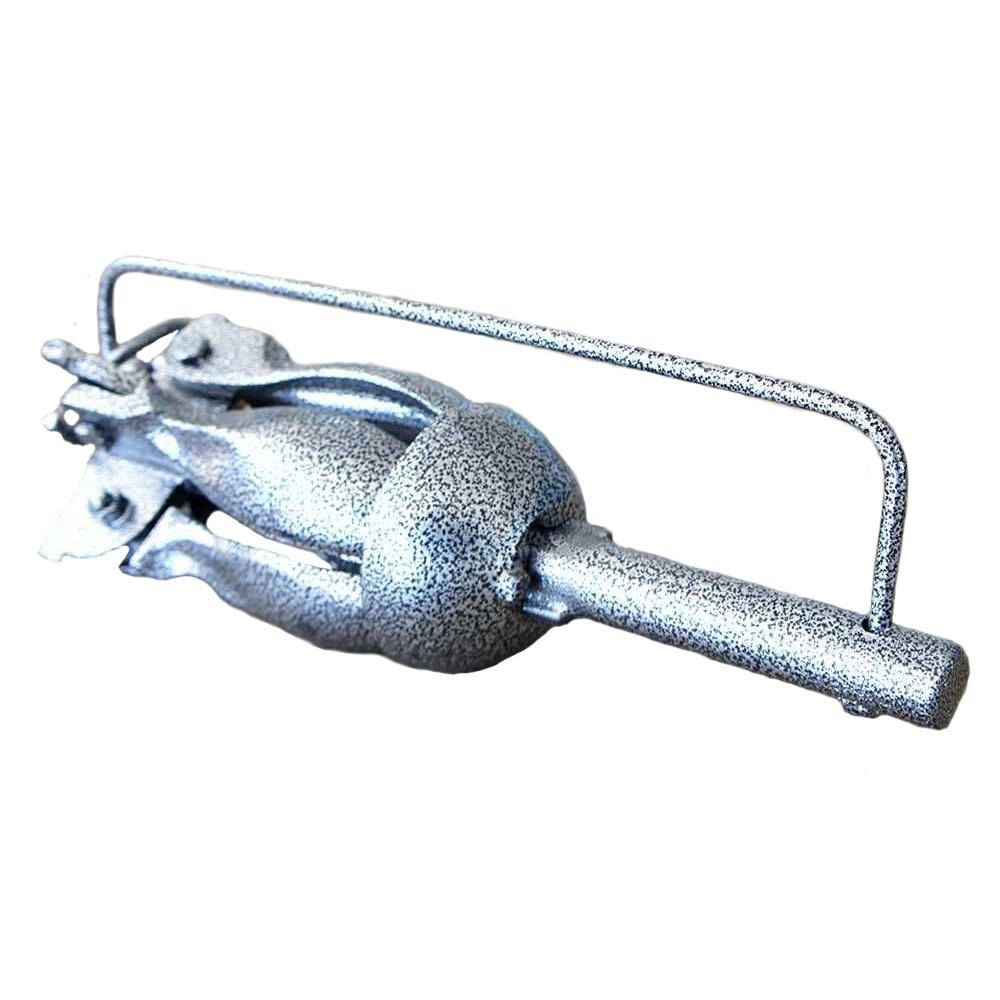 Âncora Folding Dobrável de Aço 2 kilos - Pesca e Náutica Descalvado