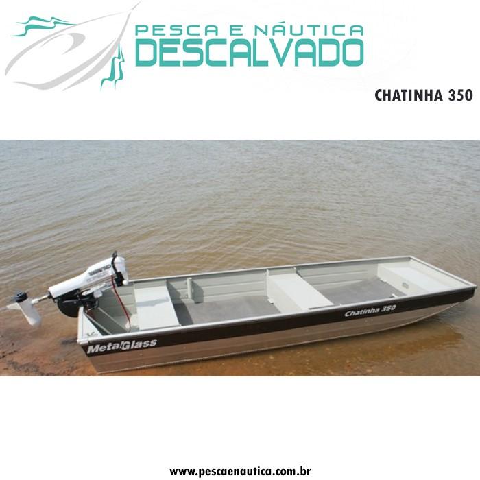 Barco 3,50 Metros Chatinha 350 Metal Glass