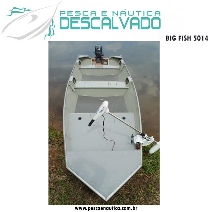 Barco 5 Metros Big Fish 5014 Metal Glass