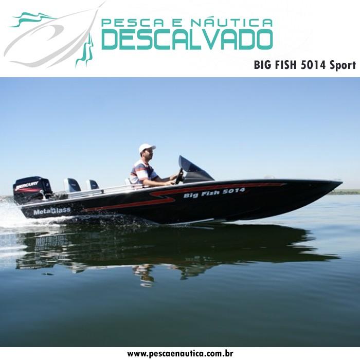 Barco 5 Metros Big Fish 5014 Sport Metal Glass